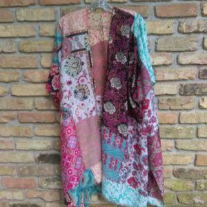 Other - Patchwork Kimono/Swim Cover
